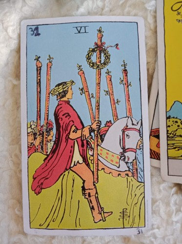 Six of Wands (6W)
