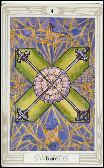 IV Swords 'Truce' (Jupiter in Libra) -